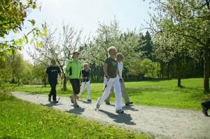 Занятие по скандинавской ходьбе пройдут в Зябликове