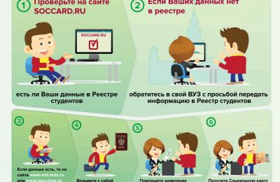 Информация для студентов Москвы