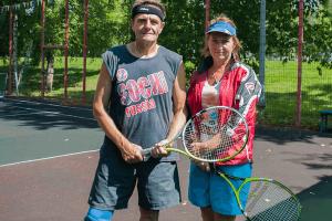 В Зябликове прошел турнир по большому теннису