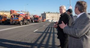 Мэр Москвы Сергей Собянин рассказал о планах по благоустройству развязок на МКАД, реконструкция которых была завершена в течение 2015 года