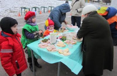 Мамы, папы и дети принимали участие в кулинарном конкурсе, главным блюдом которого были бутерброды