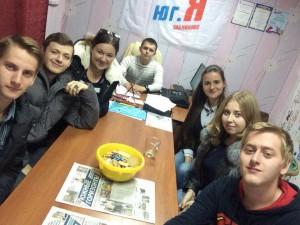 Представители молодежной палаты района Зябликово провели очередное заседание