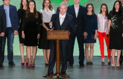 Мэр Москвы Сергей Собянин объявил о готовности поддержать развитие проекта «Молодежный парламент»