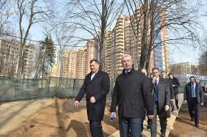 Мэр Москвы Сергей Собянин рассказал о ходе реализации программы расселения пятиэтажек