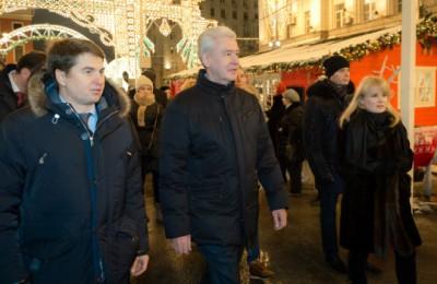 Мэр Сергей Собянин сообщил, что московский рождественский фестиваль стал крупнейшим в Европе