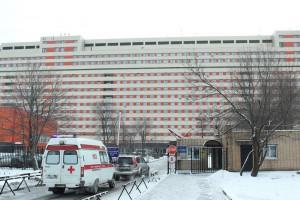 На фото городская клиническая больница №7 в ЮАО