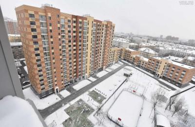 В Москве ввели около 200 тысяч квадратных метров жилья с начала года