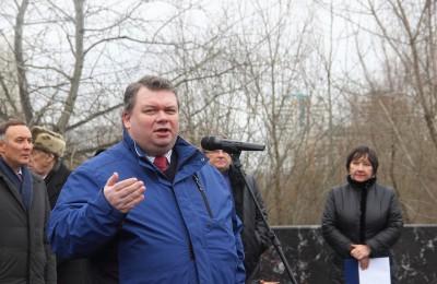 Депутат муниципального округа Андрей Ефимов