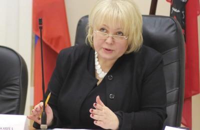 Глава муниципального округа Зябликова прокомментировала новый законопроект, представленный фракцией «Единая Россия»