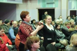 Очередная встреча главы управы района Зябликово Елены Хромовой с жителями прошла 17 февраля