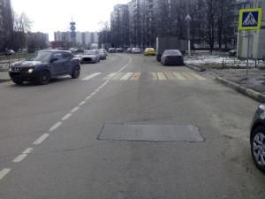Дорожное покрытие на Ореховом бульваре отремонтировали по просьбе местных жителей