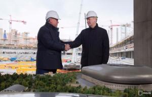 Мэр Москвы Сергей Собянин отметил, что после реконструкции стадион «Динамо» станет одной из самых современных спортивных площадок столицы