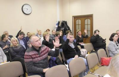 На фото Совет депутатов муниципального округа Зябликово