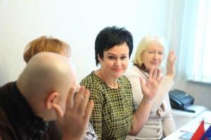 В нем приняли участие глава управы, секретарь районного отделения партии Елена Хромова