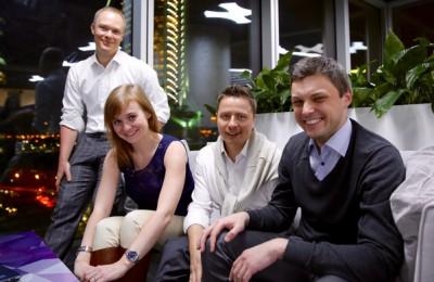 На фото организаторы проекта