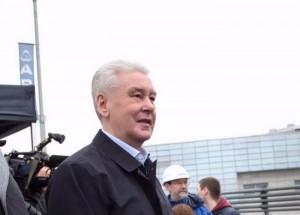 Транспортную развязку на Каширке осмотрел мэр Москвы Сергей Собянин
