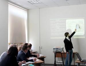 Студенты представили свой проект благоустройства территории техникума