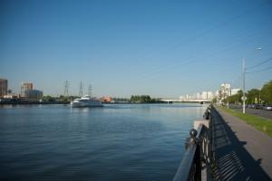 Вид на реку-Москву в ЮАО