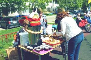 На территории района Зябликово работает ярмарка выходного дня