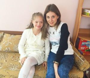 Одна из воспитанниц центра содействия семейному воспитанию Маша