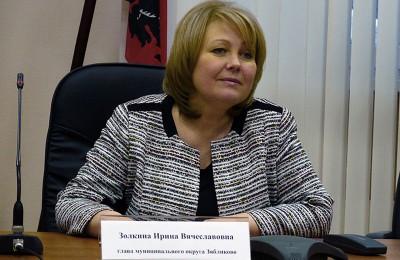 Глава муниципального округа Зяблиово Ирина Золкина
