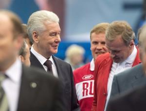 С важной датой спортивное образовательное учреждение поздравил мэр Москвы Сергей Собянин