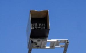 На проспекте Андропова заработала камера, фиксирующая езду по тротуару