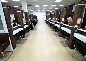Меньше всего посетителей в МФЦ наблюдается с 15 до 20 и с 8 до 11 часов