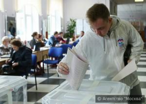 В Москве завершился этап предварительного голосования партии Единая Россия