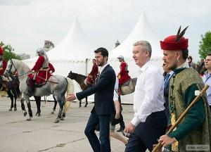 На фото Сергей Собянин на фестивале в прошлом году