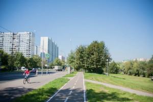 На фото газоны рядом с одним из жилых домов в Зябликове