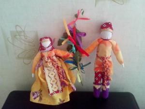 На творческом занятии жителей научат делать народную куклу