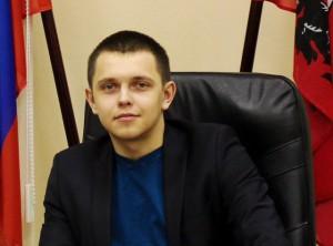 На фото председатель молодежной палаты Зябликова Алексей Гераськин