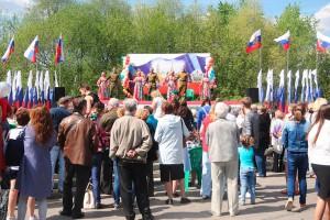 В празднике приняли участие местные жители