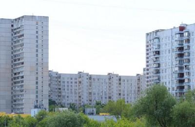 На фото многоквартирные дома в Зябликове
