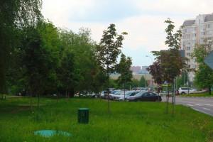 На фото Шипиловская улица в ЮАО