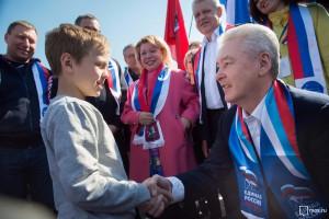 О программе летнего отдыха для детей в Москве рассказал Сергей Собянин