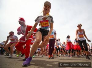 В четвёртый раз в Москве состоялся Красочный забег