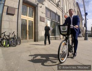 Ликсутов: В три раза чаще жители столицы стали пользоваться велопрокатом