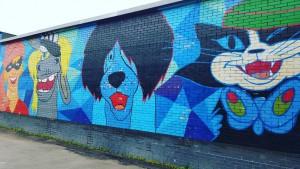 Граффити в Зябликове