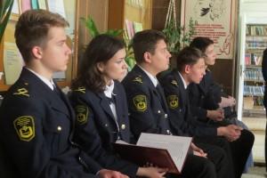 На фото учащиеся колледжа МГАВТ