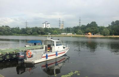 В летний период в Москве усилен контроль эксплуатации маломерных судов
