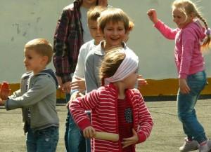 На фото юные жители района Зябликово
