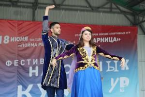На фестивале выступили творческие коллективы с номерами, посвященными культуре своих стран