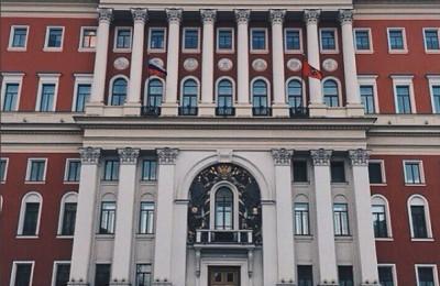 На фото мэрия Москвы