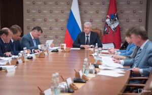 Сергей Собянин на заседании президиума правительства Москвы