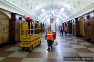 Московский метрополитен до конца года планирует организовать еще 10 технологических окон
