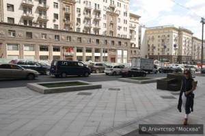 В центре Москвы благоустроили Тверскую улицу