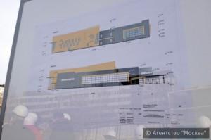 На фото строительный план одного из ФОКов