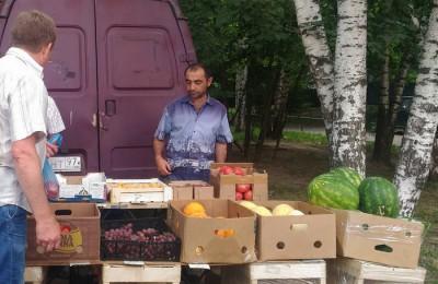 Активисты попытались выявить факты несанкционированной торговли в районе